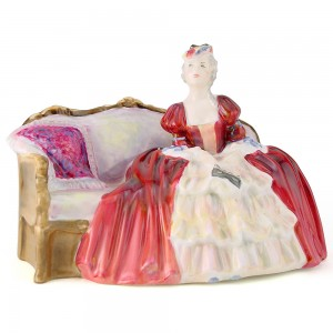 Belle o' the Ball HN1997 - Royal Doulton Figurine