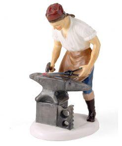 Blacksmith of Williamsburg HN2240 - Royal Doulton Figurine