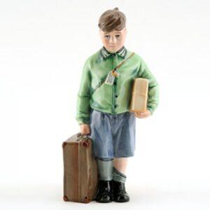 Boy Evacuee HN3202 - Royal Doulton Figurine