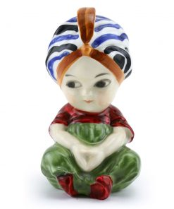 Boy with Turban HN0587 - Royal Doulton Figurine