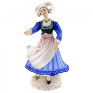 Breton Dancer HN2383 - Royal Doulton Figurine