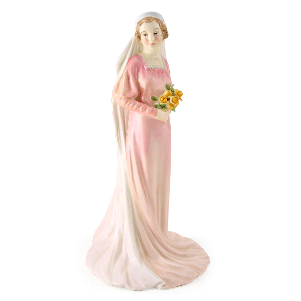 Bride HN1600 (pale pink) - Royal Doulton Figurine