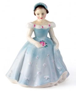 The Bridesmaid HN2196 - Royal Doulton Figurine