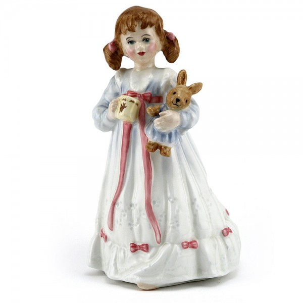 Bunnys Bedtime HN3370 - Royal Doulton Figurine