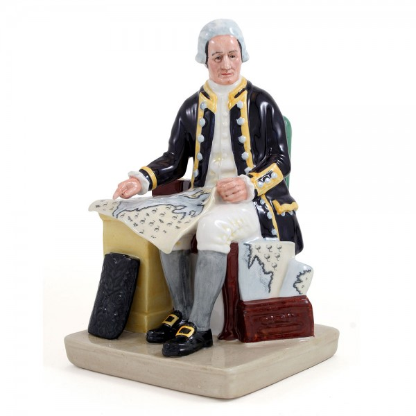 Captain Cook HN2889 - Royal Doulton Figurine