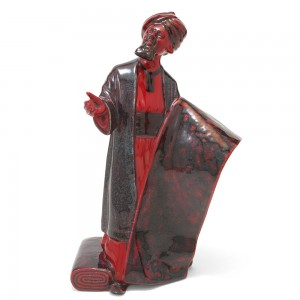 Carpet Seller HN2776 (Flambe) - Royal Doulton Figurine