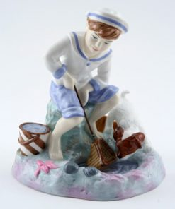 Caught One CH9 - Royal Doulton Figurine