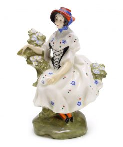 Chelsea Pair Woman HN577 - Royal Doulton Figurine