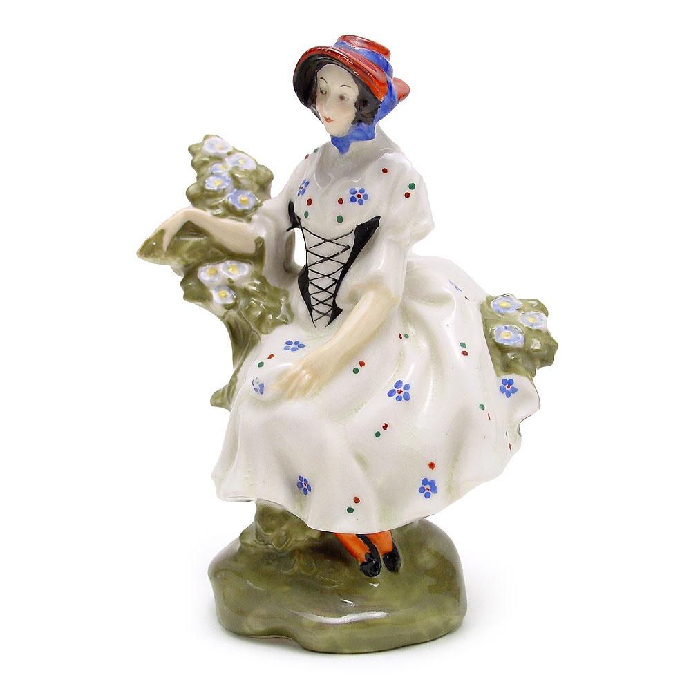Chelsea Pair Woman HN577 - Royal Doulton Figurine
