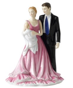 Christening Time HN5162 - Royal Doulton Figurine
