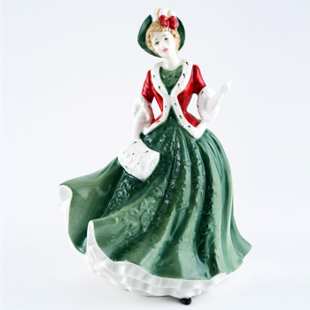 Christmas Day 2000 HN4242 - Royal Doulton Figurine