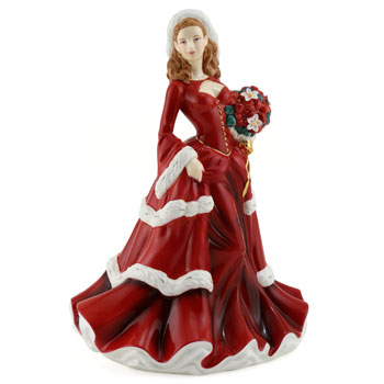 Christmas Day 2008 HN5209 - Royal Doulton Figurine