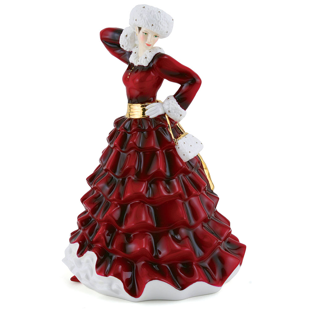 Christmas Day 2009 HN5254 - Royal Doulton Figurine