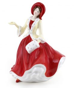 Christmas Day 2009 - PetiteHN5350 - Royal Doulton Figurine