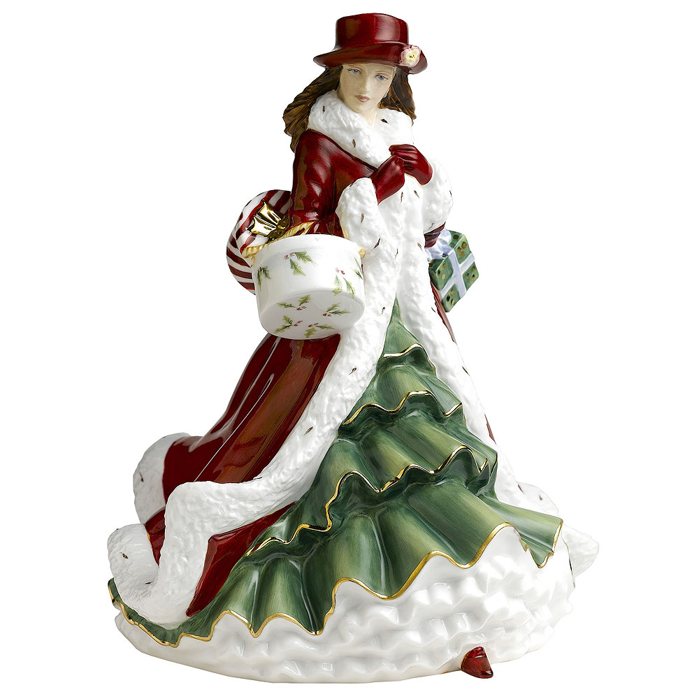Christmas Day 2010 HN5379 - Royal Doulton Figurine