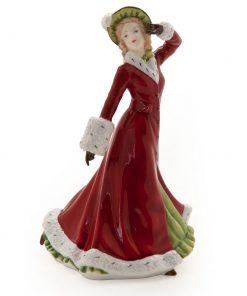 Winter Romance HN5435 - 2011 Christmas Day - Petite - Royal Doulton Figurine