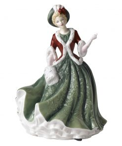 Christmas Day HN4757 - Royal Doulton Figurine