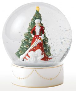 Christmas Day Snow Globe HN5523 - Royal Doulton Figurine