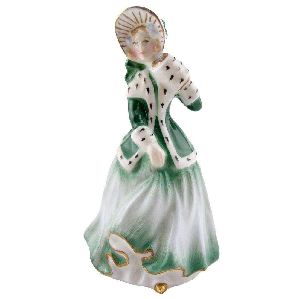 Christmas Morn HN3245 - Mini - Royal Doulton Figurine