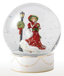 Christmas Night Snow Globe HN5522 - Royal Doulton Figurine