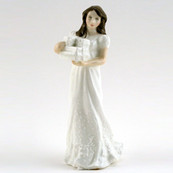 Christmas Parcels HN3493 - Royal Doulton Figurine