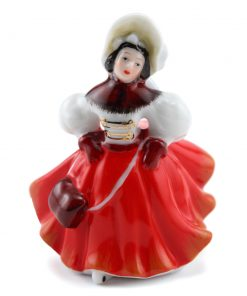 Christmas Skater M220 - Royal Doulton Figurine