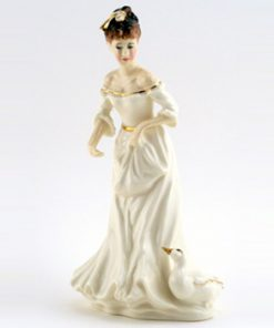 Country Girl HN3856 - Royal Doulton Figurine