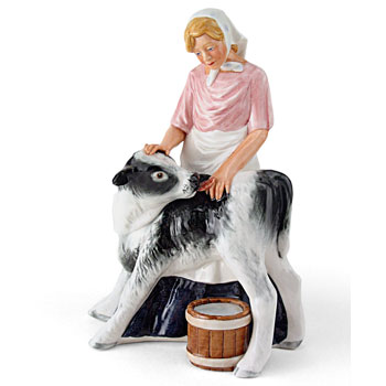 Country Maid HN3163 - Royal Doulton Figurine