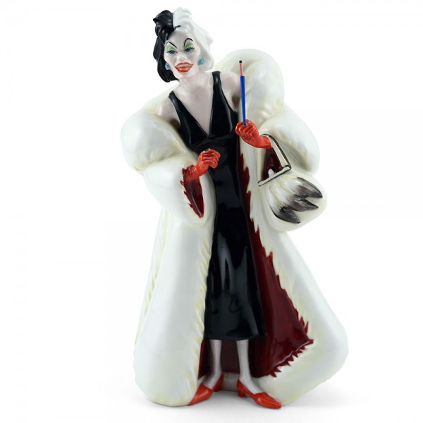 Cruella De Vil HN3839 - Royal Doulton Figurine