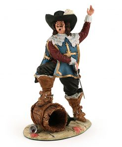 D' Artagnan Sculpted HN3638 - Royal Doulton Figurine