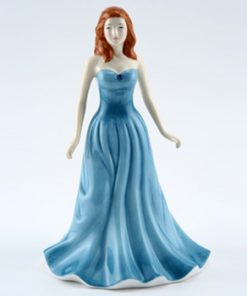 December HN4981 (Turquoise) - Royal Doulton Figurine