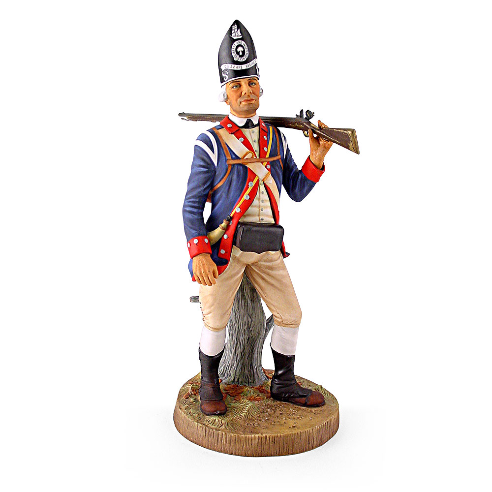 Private, Delaware Regiment, 1776 HN2761 - Royal Doulton Figurine