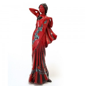 Eastern Grace HN3683 (Flambe) - Royal Doulton Figurine