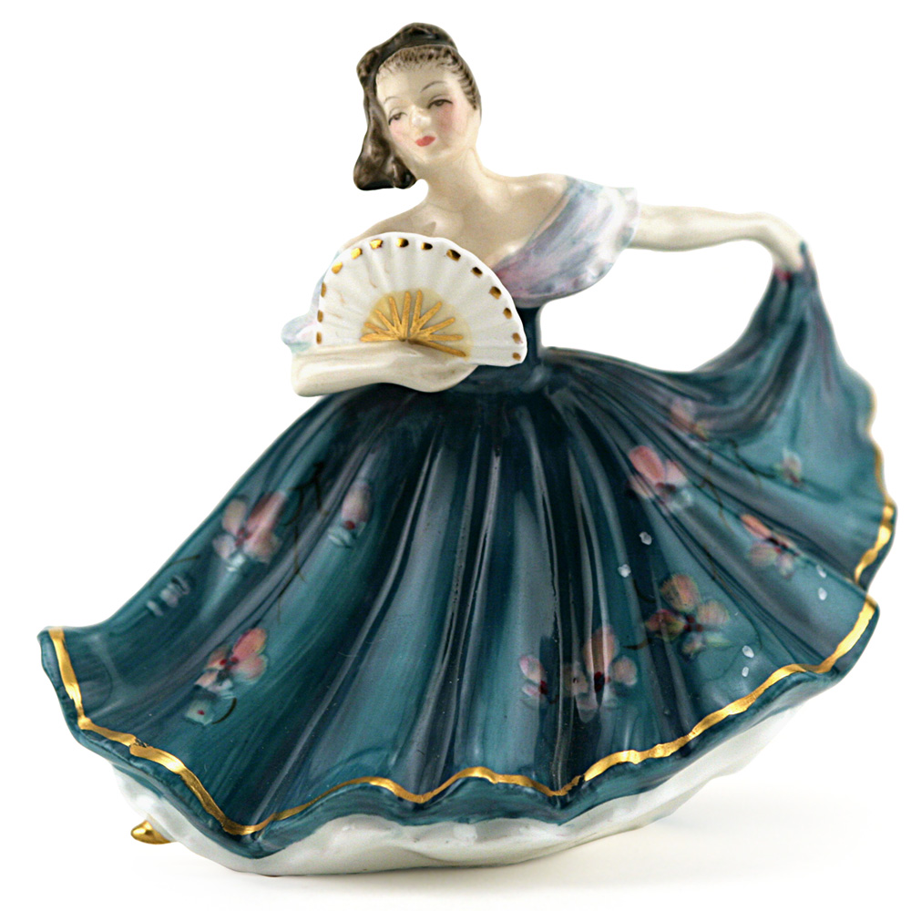 Elaine HN3247 - Mini Gold - Royal Doulton Figurine
