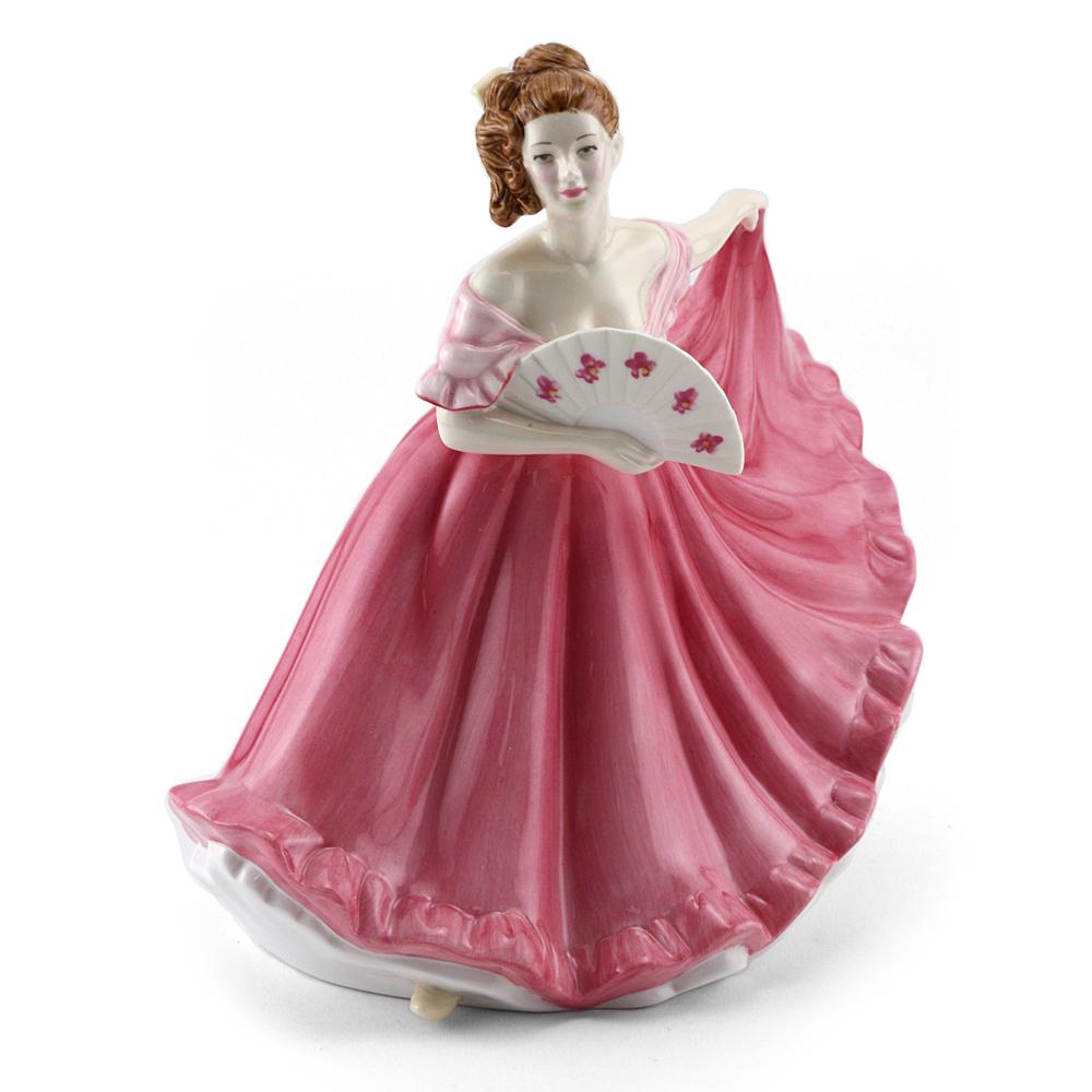 Elaine (pink) HN4865 - Royal Doulton Figurine