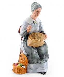 Embroidering HN2855 - Royal Doulton Figurine
