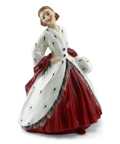 Ermine Coat HN1981 - Royal Doulton Figurine