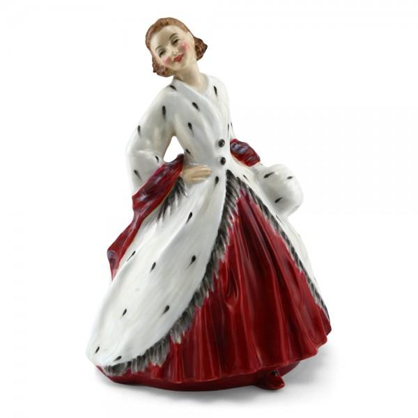 Ermine Coat HN1981 - Royal Doulton Figurine