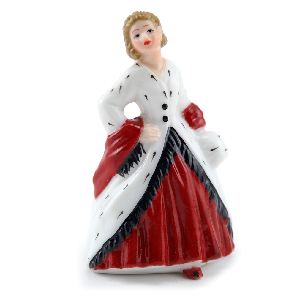 Ermine Coat M221 - Royal Doulton Figurine
