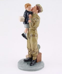 Farewell Daddy HN4363 - Royal Doulton Figurine