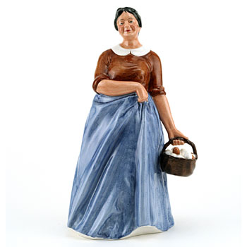 Farmer's Wife HN3164 - Royal Doulton Figurine