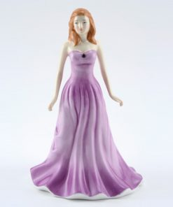 February HN4971 (Amethyst) - Royal Doulton Figurine