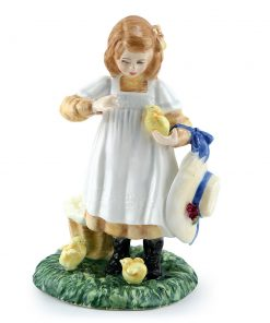 Feeding Time HN3373 - Royal Doulton Figurine