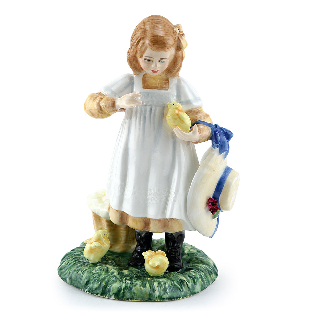 Feeding Time HN3373 - Royal Doulton Figurine