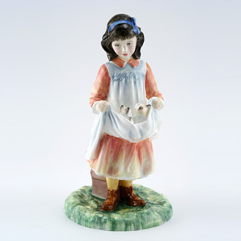 First Outing HN3377 – Royal Doulton Figurine 1