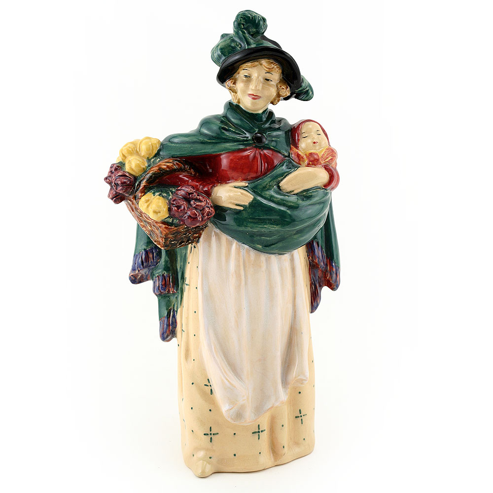 Flower Seller HN0789 - Royal Doulton Figurine