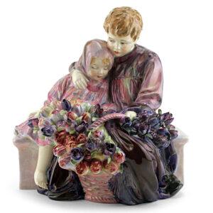 Flower Sellers Children HN1206 - Royal Doulton Figurine