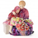 Flower Seller's Children HN1342 - Royal Doulton Figurine