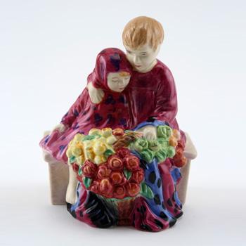 Flower Sellers Children HN4807 - Royal Doulton Figurine