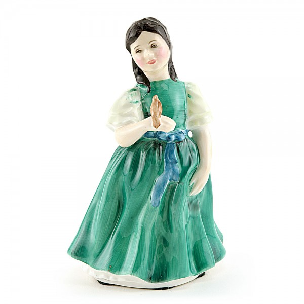 Francine HN2422A (Bird's tail moulded to hand) - Royal Doulton Figurine